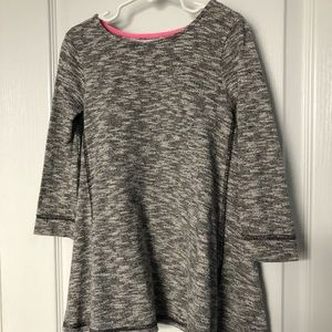 Heathered Grey Sweater Dress 4T